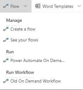 Run Flow From Model-App